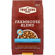 True Acre Foods Farmhouse Blend with Chicken & Vegetables Dry Dog Food, 30-lb bag