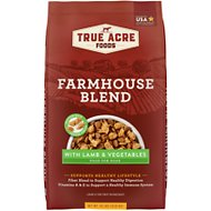 True Acre Foods Farmhouse Blend with Lamb & Vegetables Dry Dog Food, 30-lb bag