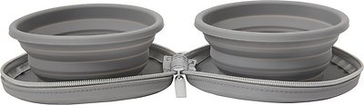 Frisco Travel Collapsible Silicone Dog & Cat Bowl