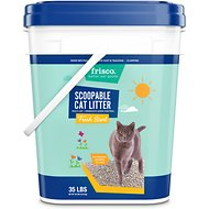 Frisco Multi-Cat Fresh Scent Clumping Clay Cat Litter, 35-lb pail
