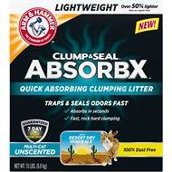 Arm & Hammer Litter Clump & Seal AbsorbX Absorbing Unscented Multi-Cat Cat Litter