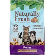 Naturally Fresh Pellet Unscented Non-Clumping Walnut Cat Litter