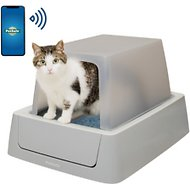 ScoopFree Smart Covered Self-Cleaning Cat Litter Box