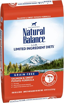 5. Natural Balance Limited Ingredient Diet Grain-Free Dry Dog Food