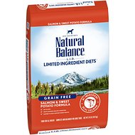 Natural Balance  L.I.D. Limited Ingredient Diets Grain-Free Salmon & Sweet Potato Formula Dry Dog Food