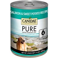 CANIDAE Grain-Free PURE Limited Ingredient Salmon & Sweet Potato Recipe Canned Dog Food