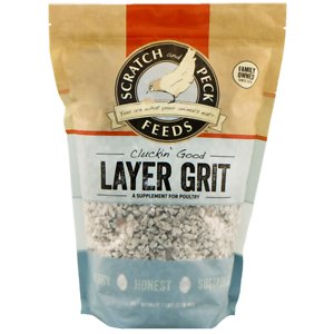 Scratch and Peck Feed Cluckin' Good Layer Grit Chicken Supplement, 7-lb bag