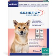 Senergy Topical Solution for Dogs, 40.1-85 lbs, (Teal Box)