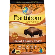 Earthborn Holistic Great Plains Feast Grain-Free Natural Dry Dog Food