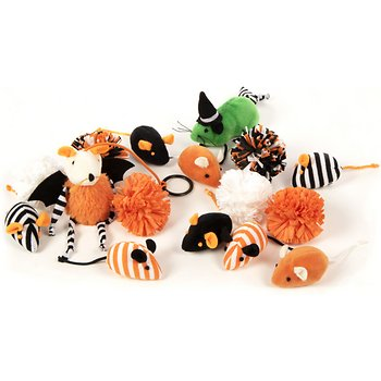 SmartyKat 16 count Spooky Treasures Cat Toy Variety Pack