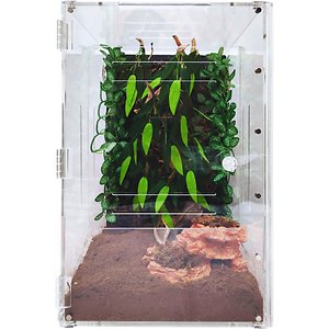 HerpCult Two-Way Acrylic Insect & Reptile Terrarium, X-Large