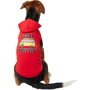 Frisco Just Trippin' Dog & Cat Hoodie, XX-Large