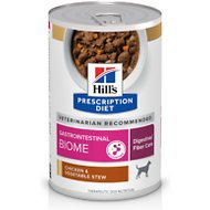 Hill's Prescription Diet Gastrointestinal Biome Chicken Flavor Wet Dog Food