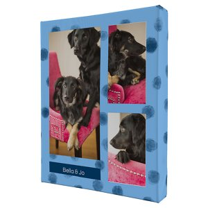 Frisco Personalized Dotted Collage Canvas