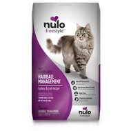 Nulo Freestyle Hairball Management Turkey & Cod Recipe Grain-Free Dry Cat Food