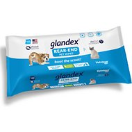 Vetnique Labs Glandex Cleansing & Deodorizing Anal Gland Hygienic Dog & Cat Wipes, 100 count