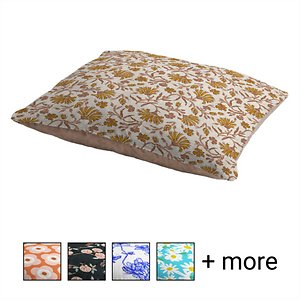 Deny Designs Holli Zollinger Pillow Cat & Dog Bed w/ Removable Cover, Kalami Floral; Your furry friend can enjoy a paw-fect nap and catch some essential zzz's on a Deny Designs Holli Zollinger Pillow Cat & Dog Bed. Ideal for any beloved critter—including cats, dogs and even pigs—who needs a comfy spot, this bed is equipped with cozy fleece and a removable cover for easy cleaning. Better yet, it's crafted to be stylish! This artist-designed, USA-made pet bed will add a creative, cozy touch to your home.
