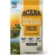 ACANA Free-Run Poultry Recipe + Wholesome Grains Dry Dog Food, 22.5-lb bag