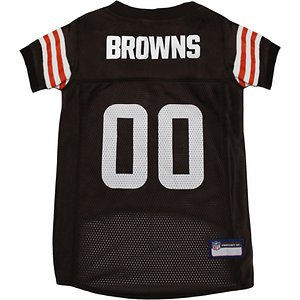 Pets First NFL Dog Jersey, Cleveland Browns, X-Large