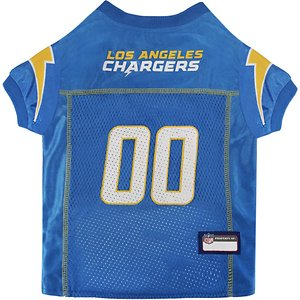 Pets First NFL Dog Jersey, Los Angeles Chargers, Medium