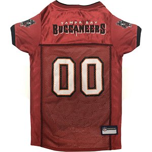 Pets First NFL Dog Jersey, Tampa Bay Buccaneers, Medium