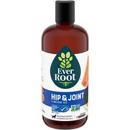 EverRoot Hip & Joint + Salmon Oil Liquid Dog Supplement, 16-oz bottle