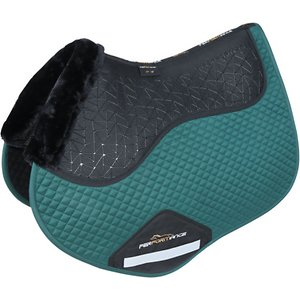 Shires Equestrian Products Performance Fusion Jump Horse Saddlecloth, Green