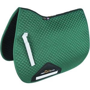 Shires Equestrian Products Performance Horse Saddlecloth, Green