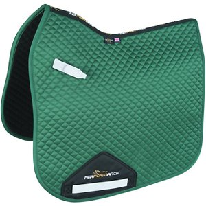 Shires Equestrian Products Performance Dressage Horse Saddlecloth, Green