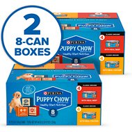 Purina Puppy Chow Classic Ground Variety Pack Beef & Chicken Wet Puppy Food