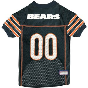 Pets First NFL Chicago Bears Mesh Dog Jersey, XX-Large