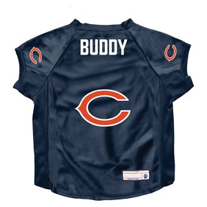 Littlearth NFL Personalized Stretch Dog & Cat Jersey, Chicago Bears, Big Dog