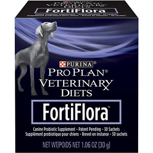 Purina Pro Plan Veterinary Diets FortiFlora Powder Digestive Supplement for Dogs