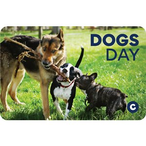 Chewy eGift Card, Dogs Day, $25