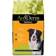 AvoDerm Natural Chicken Meal & Brown Rice Formula Adult Dry Dog Food, 30-lb bag