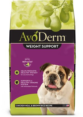 4. AvoDerm Weight Support Dry Dog Food