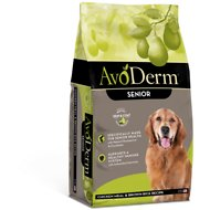AvoDerm Natural Chicken Meal & Brown Rice Formula Senior Dry Dog Food, 4.4-lb bag