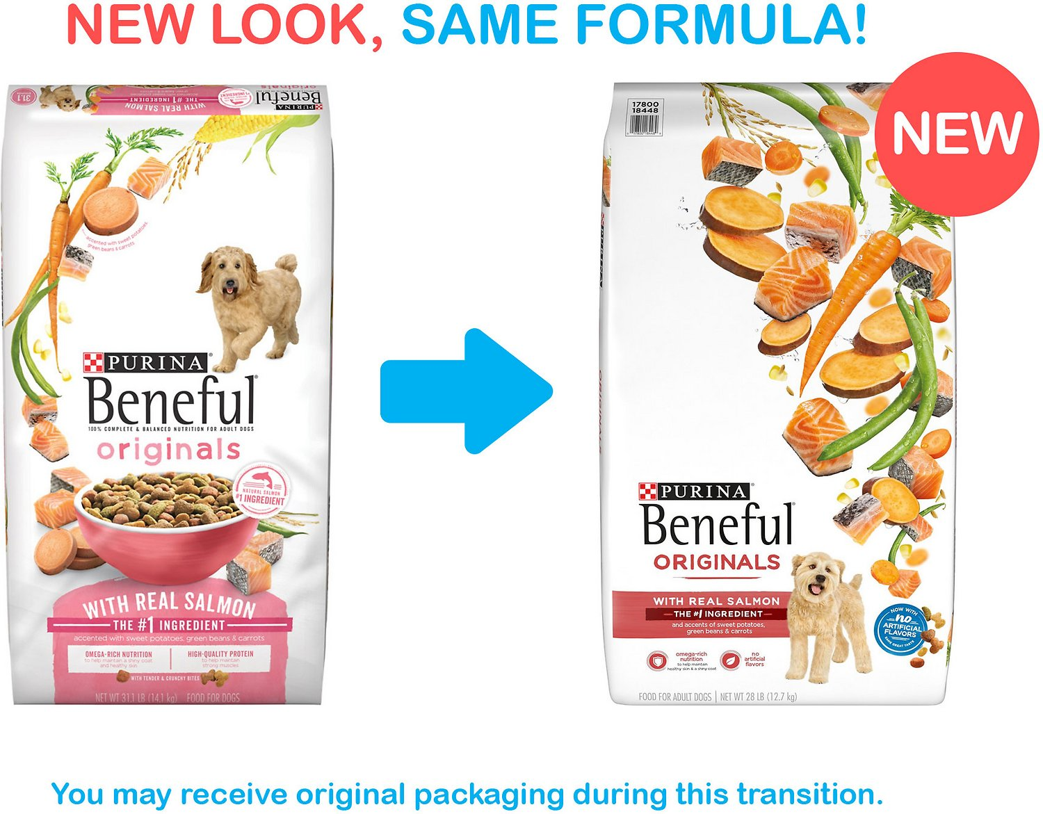 Purina Beneful Originals With Real Salmon Dry Dog Food 31