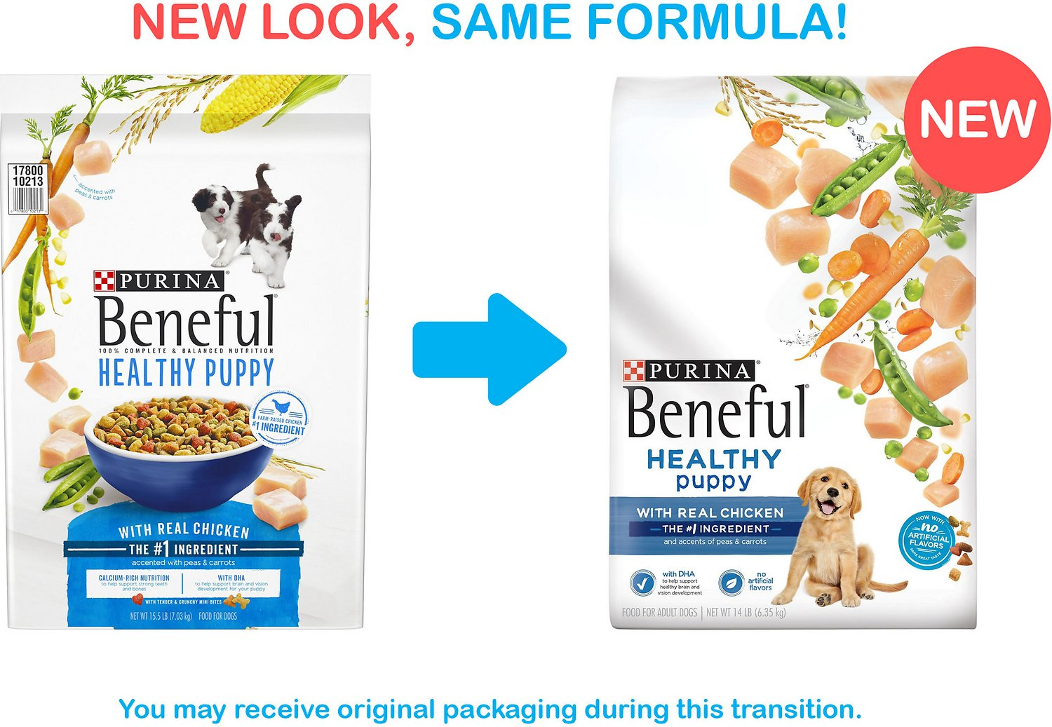 Purina Beneful Healthy Puppy With Real Chicken Dry Dog Food 155 Lb