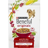 Purina Beneful Originals with Real Beef Dry Dog Food, 15.5-lb bag