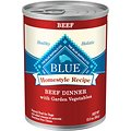 Blue Buffalo Homestyle Recipe Beef Dinner with Garden Vegetables & Sweet Potatoes Canned Dog Food