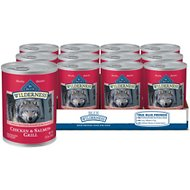 Blue Buffalo Wilderness Salmon & Chicken Grill Grain-Free Canned Dog Food