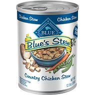 Blue Buffalo Blue's Country Chicken Stew Grain Free Canned Dog Food, 12.5-oz, case of 12