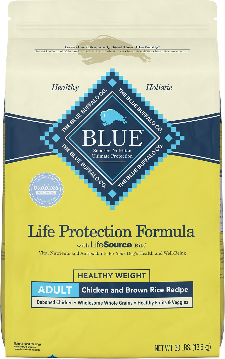Blue Buffalo Life Protection Formula Healthy Weight Adult