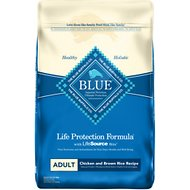Blue Buffalo Life Protection Formula Adult Chicken & Brown Rice Recipe Dry Dog Food, 30-lb bag