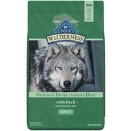Blue Buffalo Wilderness Duck Recipe Grain-Free Dry Dog Food, 24-lb bag