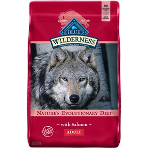 Blue Buffalo Wilderness Salmon Recipe Dog Food