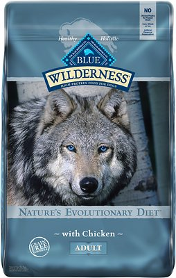 3. Blue Buffalo Wilderness Chicken Recipe Grain-Free Dry Dog Food