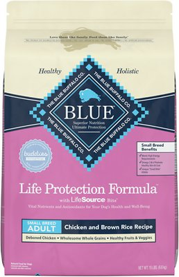 4. Blue Buffalo Life Protection Formula Small Breed