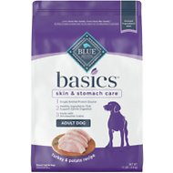 Blue Buffalo Basics Limited Ingredient Formula Turkey & Potato Recipe Adult Dry Dog Food, 11-lb bag